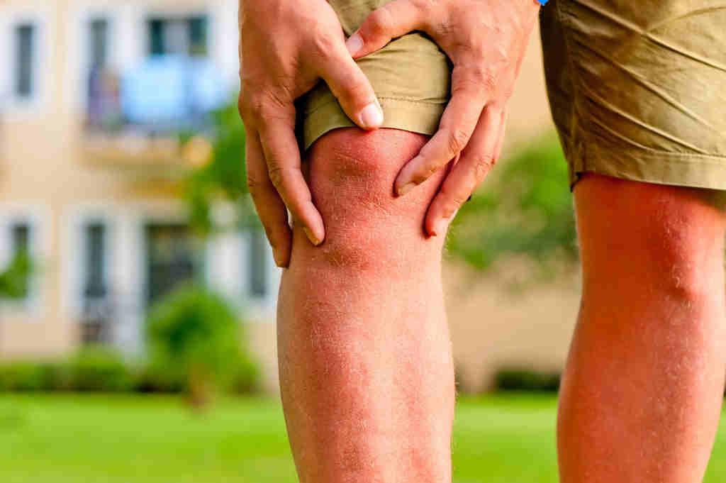 Kniegelenkschmerzen